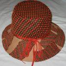 Vintage Quaker Maid Wide Rim Hippie Hat Union Made