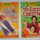 Lot of 2 Lizzie McGuire Books A Very Lizzie Christmas and All Over It Disney Channel Series