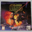 Star Wars Rebel Assault II The Hidden Empire Video Game Players Guide for PC