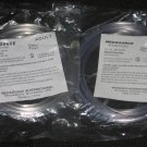 Lot of 2 Medsource Adult Nasal Oxygen Cannula with Non-Flared Tips Latex Free