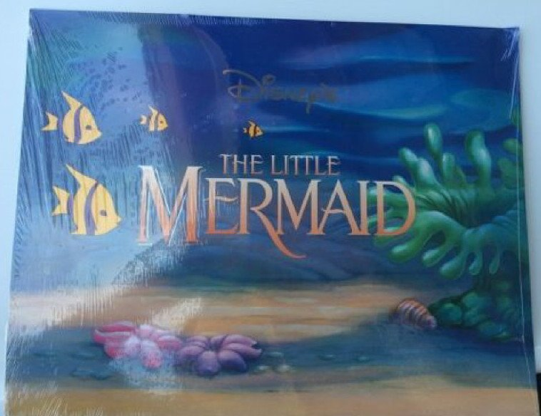 Disney�s The Little Mermaid Exclusive Lithograph Portfolio Set of 4 FACTORY SEALED - RARE
