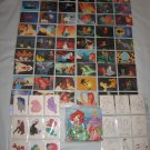 Disney Little Mermaid Collectible Story Trading Cards Pro Set JUMBO Box SEALED + Bonus 136 Cards