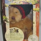 Eureka Pete Collectible Stuffed Bear with Card 2000 Mervyns California Exclusive NEW