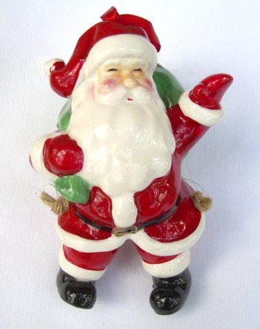 Santa Claus Christmas Tree Ornament 2004 Limited Edition Collectible from Mervyns NEW