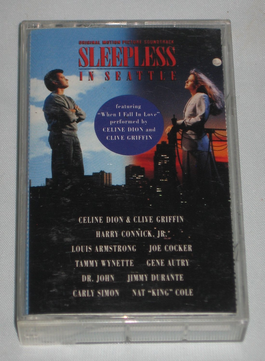 Sleepless in Seattle Original Motion Picture Soundtrack 1993 Cassette