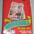 1985 Topps Baseball Cards EMPTY Display Wax Box featuring Keith Hernandez Ryne Sandberg