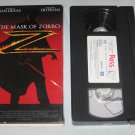 The Mask of Zorro (VHS, 1998) Antonio Banderas, Anthony Hopkins, Catherine Zeta-Jones