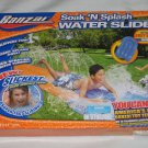 Banzai Soak N Splash Water Slide with Inflatable Body Board NEW
