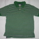Old Navy Green Striped Polo Shirt Top Toddler Boys Size Small S