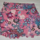 Childrens Place Pink Stretch Skirt Skort Shorts with Flowers Size 18 Months