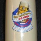 Hofbrauhaus on Tour Large Bavaria Stoneware Beer Stein Mug Stamped HERB