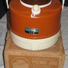 Vintage 1970's Thermos 1 Gallon Spout Picnic Jug with Box Model 7743/22 RARE