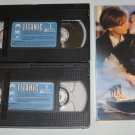 TITANIC 2-Tape VHS starring Leonardo DiCaprio, Kate Winslet, Billy Zane, Kathy Bates, Bill Paxton