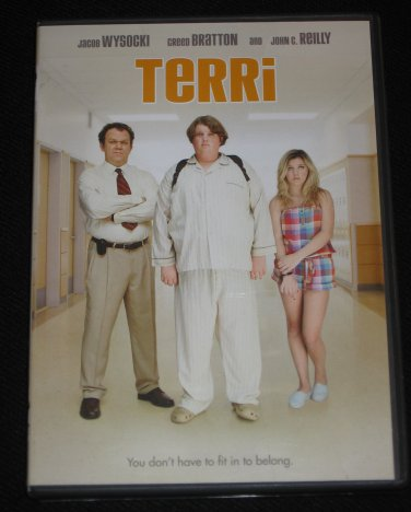 Terri DVD Starring Jacob Wysocki, John C. Reilly, Bridger Zadina, Creed Bratton, Olivia Crocicchia