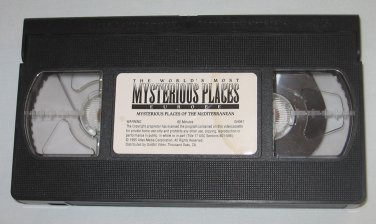 Worlds Most Mysterious Places Europe VHS Mysterious Places of the Mediterranean Travel Channel