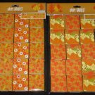 Happy Harvest Fall Autumn Leaves Stickers 40 Mini Boxes (8 stickers each) NEW