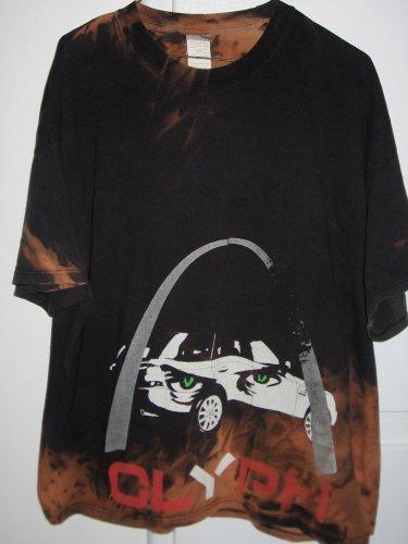 CLYPH Graphic Shirt Mens Size 2XL 50 - 52 Hanes Cotton Short Sleeves T-Shirt