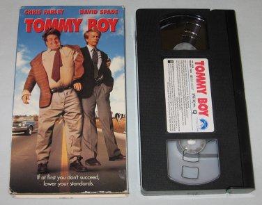Tommy Boy (VHS, 1995) Chris Farley, David Spade, Bo Derek, Brian Dennehy