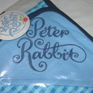Nickelodeon Baby Boys Spice PETER RABBIT Blue Reversible Hoodie Blanket with Embroidered Hood NEW