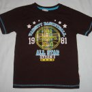 KZ BOYS 1981 Varsity Basketball All Star Champs Division 6 Shirt Size 6