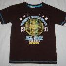 KZ BOYS 1981 Varsity Basketball All Star Champs Division 6 Shirt Size 6
