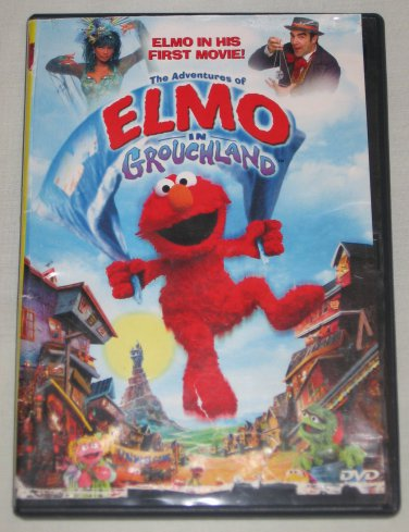 The Adventures Of Elmo In Grouchland (DVD, 1999) Sesame Street