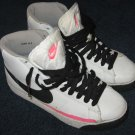 Nike Blazer Mid Shoes Size 6.5Y White Black Granite Hot Lava 318705-101