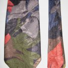 AZIA Collection Tropical Print Mens Tie Necktie 100% Polyester