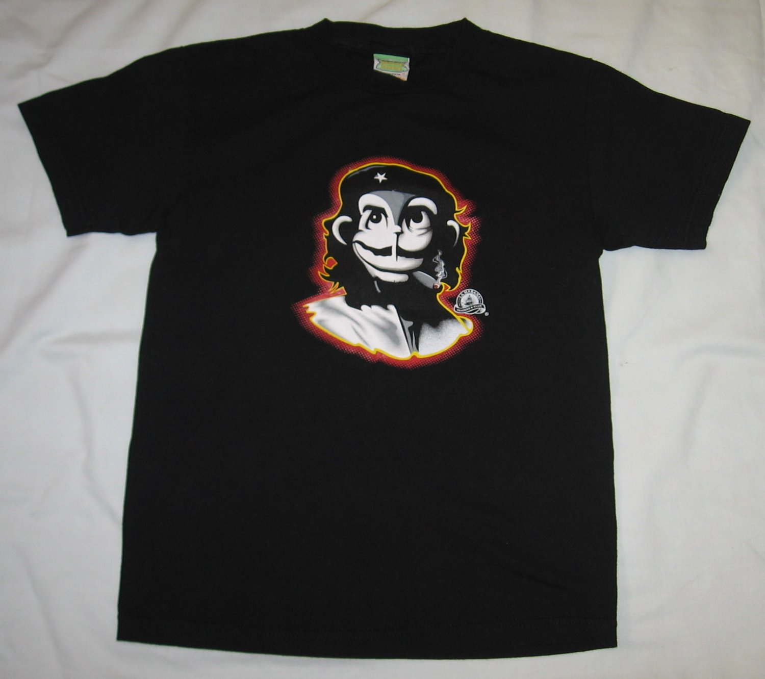 Habana Banana La Habana Traders Club Ensenada Baja Mexico Monkey Shirt Small S NEW