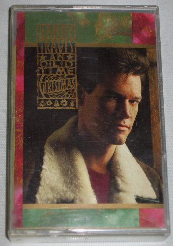 Randy Travis An Old Time Christmas 1989 Music Cassette Warner Bros. Records