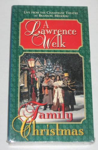 A Lawrence Welk Family Christmas Live Champagne Theatre Branson Missouri Holiday Music VHS NEW