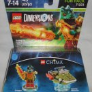 LEGO Dimensions 71223 Chima Fun Pack Cragger and Swamp Skimmer NEW