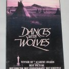 Dances with Wolves Kevin Costner 1990 VHS Factory Sealed Orion Video NEW Sealed