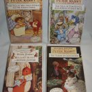 Lot of 4 Beatrix Potter Peter Rabbit Collectors Editions VHS Childrens Videos