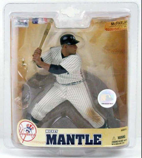 MCFARLANE COOPERSTOWN 5 MICKEY MANTLE NEW YORK YANKEES