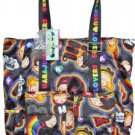 Harajuku Lovers UH-O Large RAINBOW Girls Travel Tote Bag Purse NWT Style 8302HL