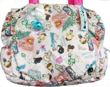 Harajuku Lovers Lollipop Photo Doodle Tote Travel bag Purse style 8319HL NWT