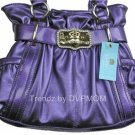 Kathy Van Zeeland Grape Purple Studio 54 Belt Shopper