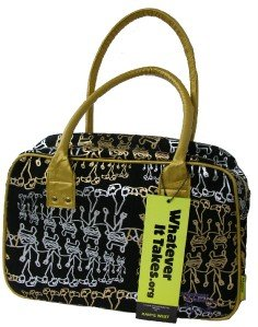 Whatever It Takes Kanye West Satchel Bag Purse Tote NWT