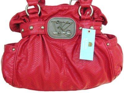 Kathy Van Zeeland BRICK SPIN CYCLE Belt Shopper Bag NWT
