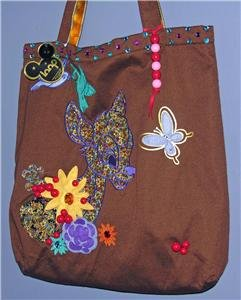 Bambi Loop NYC Disney Couture Tote Bag Purse NWT
