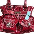 Kathy Van Zeeland CHERRY LADY LOOP Belt Shopper Bag NWT