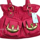 Kathy Van Zeeland ROUGE DOUBLE TROUBLE Belt Shopper Bag