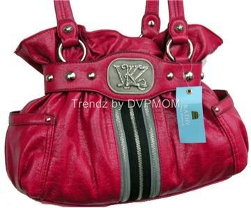 Kathy Van Zeeland Starstruck ROUGE Belt Shopper Bag NWT