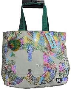 Harajuku Lovers CANDY Love Letters Large Tote Bag NWT