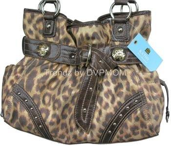 Kathy Van Zeeland Leopard Knotting Hill Belt Shopper