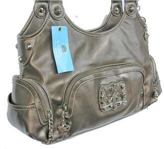 Kathy Van Zeeland Cork Glaze Craze E/W Shopper Bag NWT!