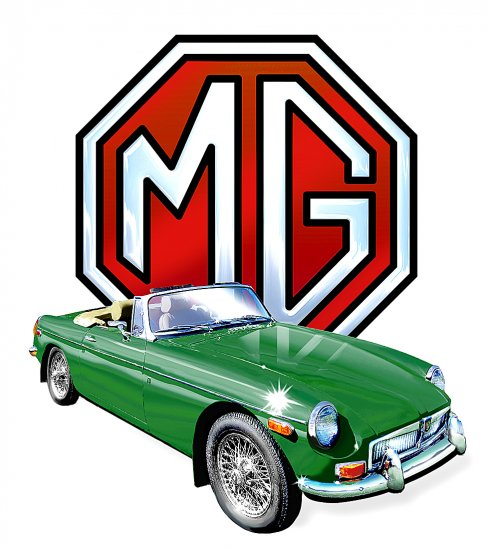 MGB chrome bumber t-shirt