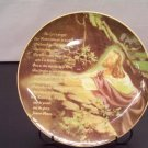 Lord's Prayer Porcelain Plate With Display Stand