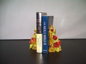 WILD ROSE BOOKENDS